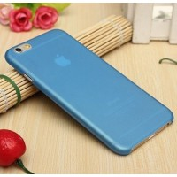 Casing Iphone 6 Softcase Simple Blue