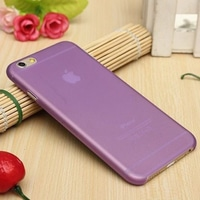Casing Iphone 6 Softcase Simple Purple