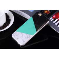 Casing Iphone 6 Softcase Black Tosqa Marble
