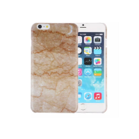 Casing Iphone 6 Hardcase Brown Marble