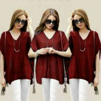 Blouse Tammy Merah