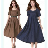 Dress Arumi Brown